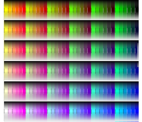 Shaded Colormap - Web Safe Base fabric by glimmericks on Spoonflower - custom fabric