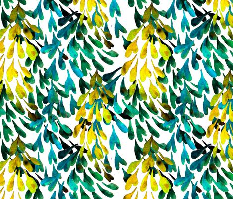 laburnum fabric by wednesdaysgirl on Spoonflower - custom fabric