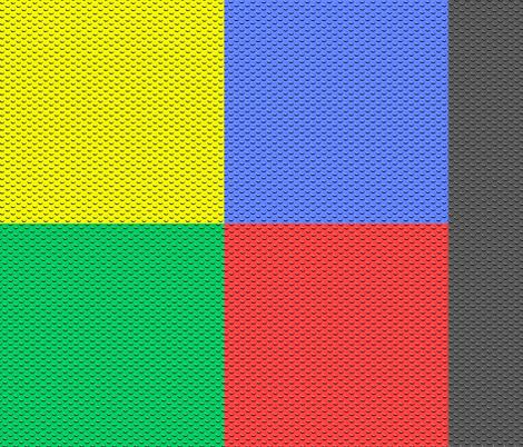 building bricks multi fabric by spacefem on Spoonflower - custom fabric