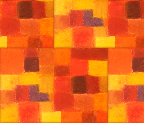 Autumn  fabric by floatinglemonsart on Spoonflower - custom fabric