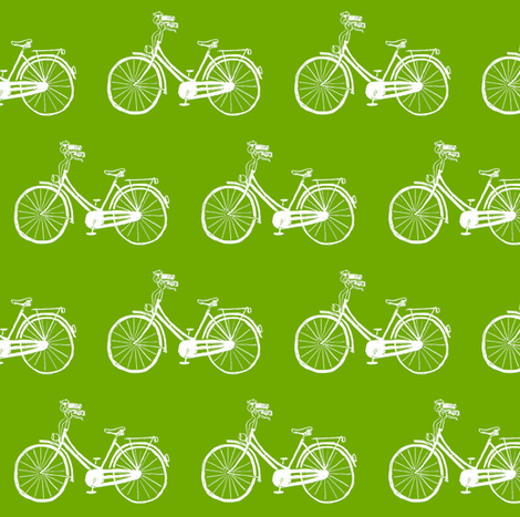 bicycles fabric by annekecaramin on Spoonflower - custom fabric