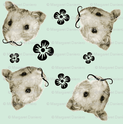 Mustachioed Hamster Mint
