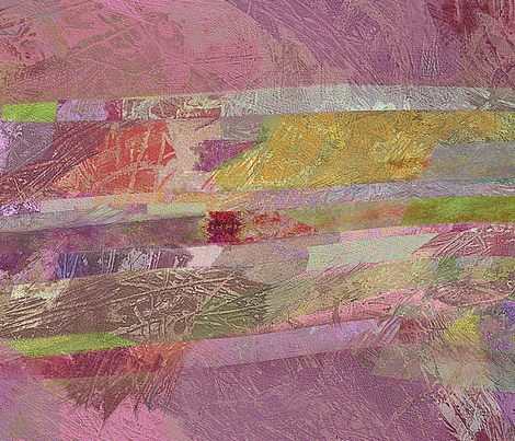 Candy pink and gold  fabric by wren_leyland on Spoonflower - custom fabric