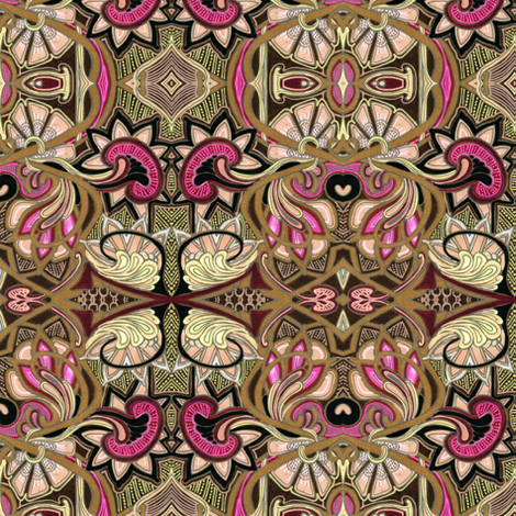 Victorian Embroidery fabric by edsel2084 on Spoonflower - custom fabric