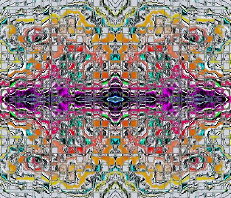 ErodedGrid1_A_FQ fabric by k_shaynejacobson on Spoonflower - custom fabric