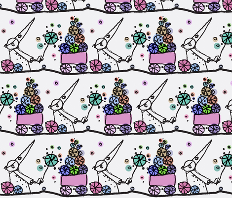 Plague Sprinkles fabric by boris_thumbkin on Spoonflower - custom fabric