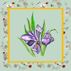 Dainty Delights Purple Iris