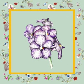 Dainty Delights Exotic Purple Cluster  Flower