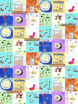 Brownie_Quilt_pattern_design