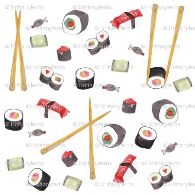 sushi-print