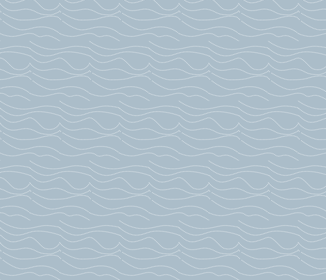 plain wave beachside fabric by creative_merritt on Spoonflower - custom fabric