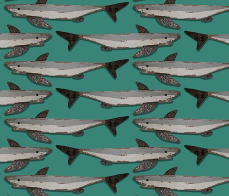 Shark Jam fabric by bippidiiboppidii on Spoonflower - custom fabric