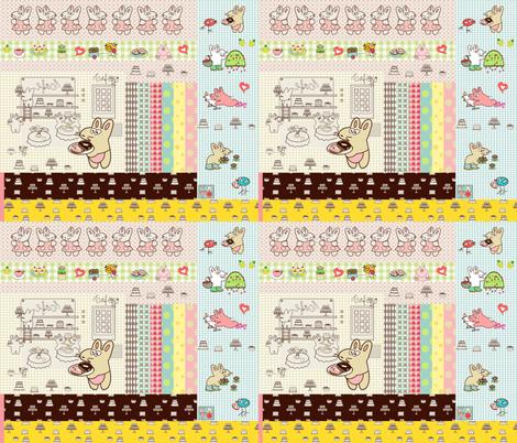 Kato's scrapbook fabric by kato_kato on Spoonflower - custom fabric