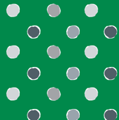 Green Polka Dot