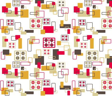Hobs Kitchen fabric by squeakyangel on Spoonflower - custom fabric