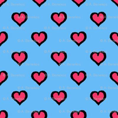Comic Book Hearts