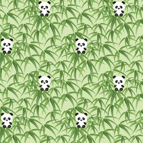 Little Panda fabric by jazzypatterns on Spoonflower - custom fabric