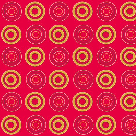 retro circles fabric by squeakyangel on Spoonflower - custom fabric