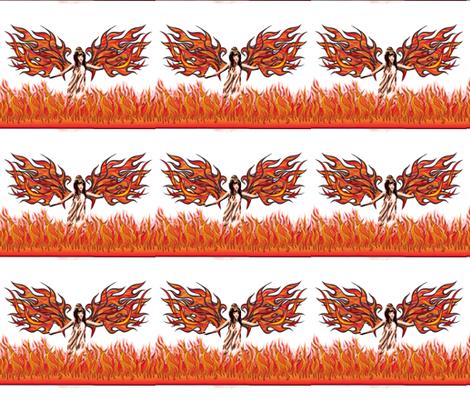 Angel_of_fire fabric by vinkeli on Spoonflower - custom fabric