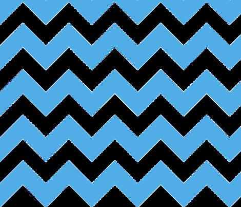 Light Blue Chevron fabric by megankaydesign on Spoonflower - custom fabric