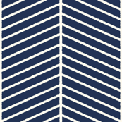 Navy Outline Chevron