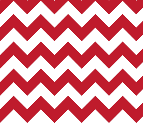 Red Chevron fabric by megankaydesign on Spoonflower - custom fabric