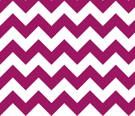 Red-Purple Chevron fabric by gates_and_gables on Spoonflower - custom fabric