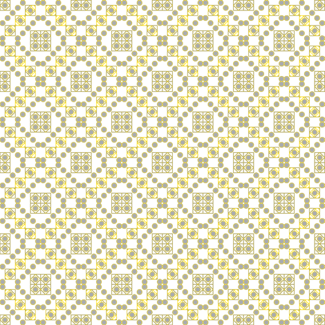 squares_and_circles_gray fabric by adrianne_nicole on Spoonflower - custom fabric