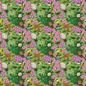 Rainforest Ditsy Print Revised