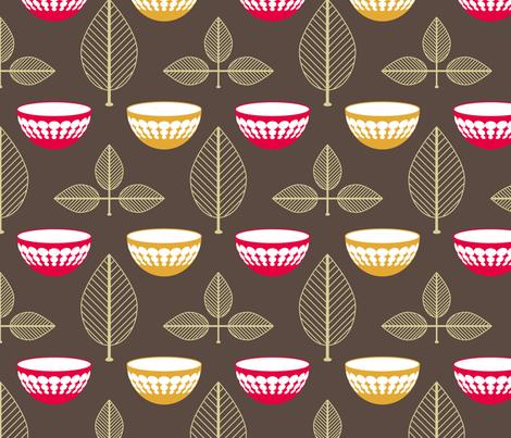 Vintage Pyrex fabric by laurendahl on Spoonflower - custom fabric
