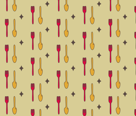 Wine and Dine fabric by belindabilly on Spoonflower - custom fabric