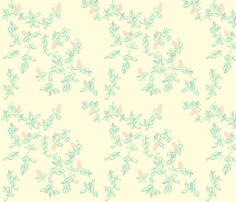 Overgrown fabric by anna_gregory on Spoonflower - custom fabric