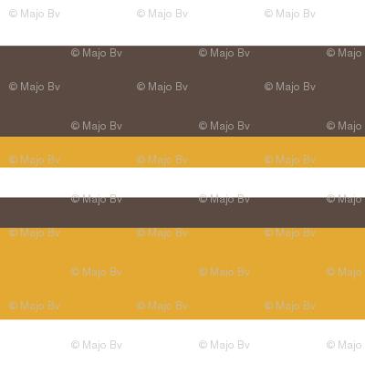 1920s Retro Kitchen Stripes (orange/white/brown)
