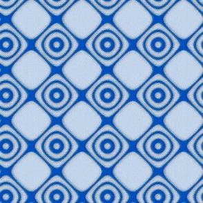 Blue Diamonds and Circles © Gingezel™ 2012