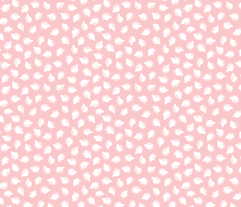 strawberry pink fabric by minimiel on Spoonflower - custom fabric