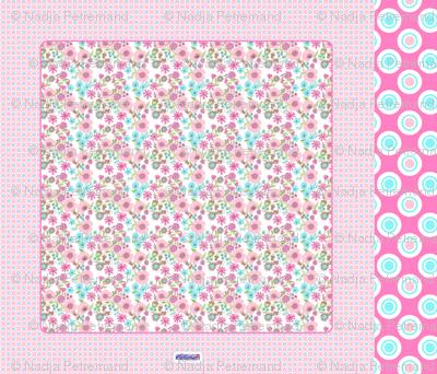 foulard liberty pastel