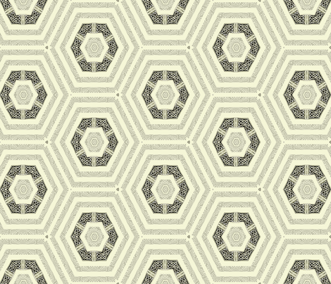 Lindisfarne Concentrics fabric by wren_leyland on Spoonflower - custom fabric