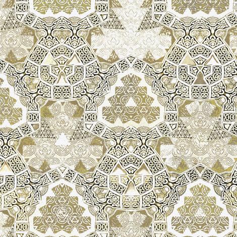 Lindisfarne Gweniviere fabric by wren_leyland on Spoonflower - custom fabric