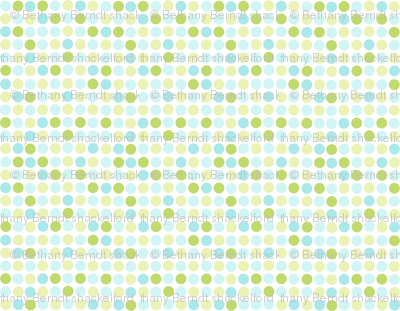 Rainforest Babies Dots