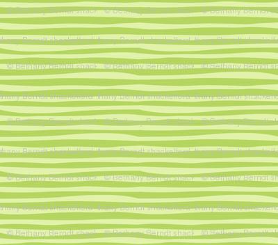 Rainforest Babies Green Stripe