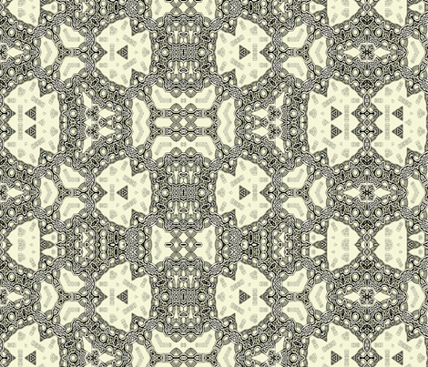 Lindisfarne Princess fabric by wren_leyland on Spoonflower - custom fabric