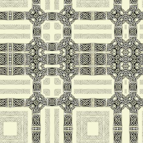 Lindisfarne - Girded fabric by wren_leyland on Spoonflower - custom fabric