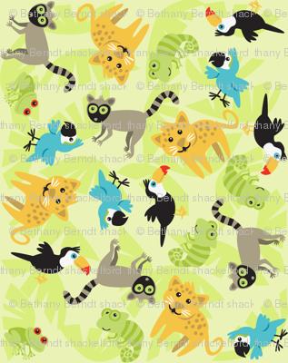 Rainforest Babies Toss