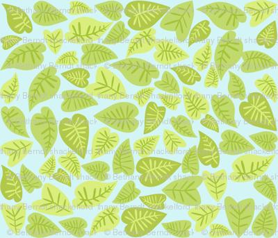 Rainforest Babies Leaves