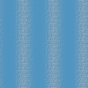 Blue Maze Stripe © Gingezel™ 2012
