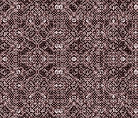 Lindisfarne black cherry weave fabric by wren_leyland on Spoonflower - custom fabric