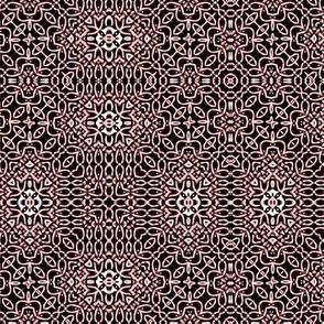 Lindisfarne black cherry weave