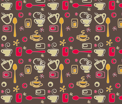 Morning Kitchen WakeUp fabric by jpdesigns on Spoonflower - custom fabric