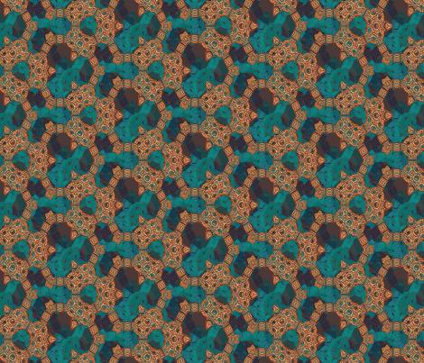 Lindisfarne Copper fabric by wren_leyland on Spoonflower - custom fabric