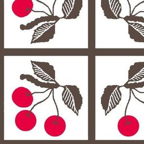 cherry retro/ tile